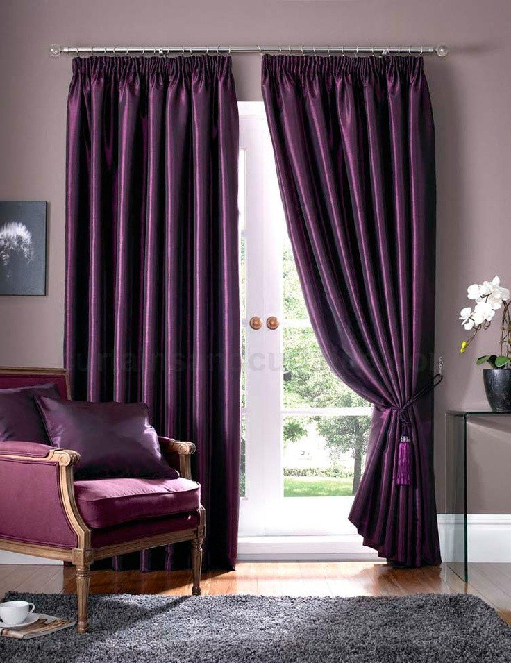 Best Plum Drapes Curtains For A Purple Bedroom Inspirational Curtain Ideas For The Hauze Home Design With Pictures