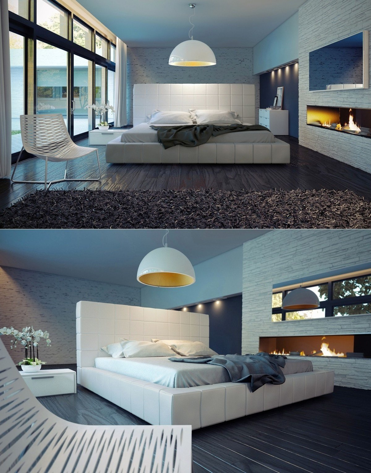 Best Sleek Bedrooms With Cool Clean Lines Home Decoz With Pictures