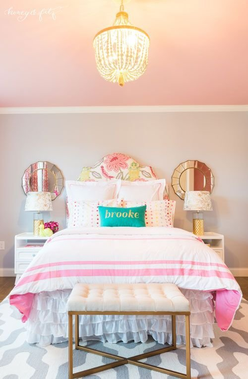 Best Bedroom Large Size Decor Little Girls Ideas Pink And With Pictures
