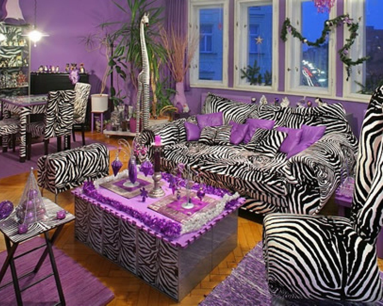Best Purple And Zebra Print Room Ideas Interior Designs With Pictures