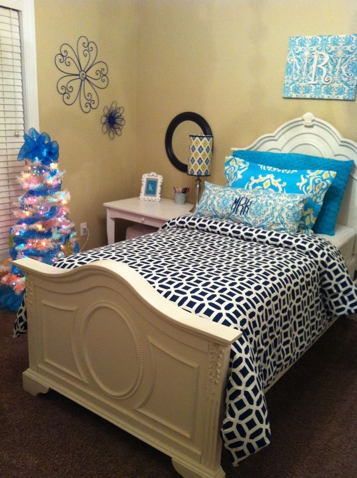 Best Bedroom Turquoise And Navy Kids Rooms Pictures With Pictures