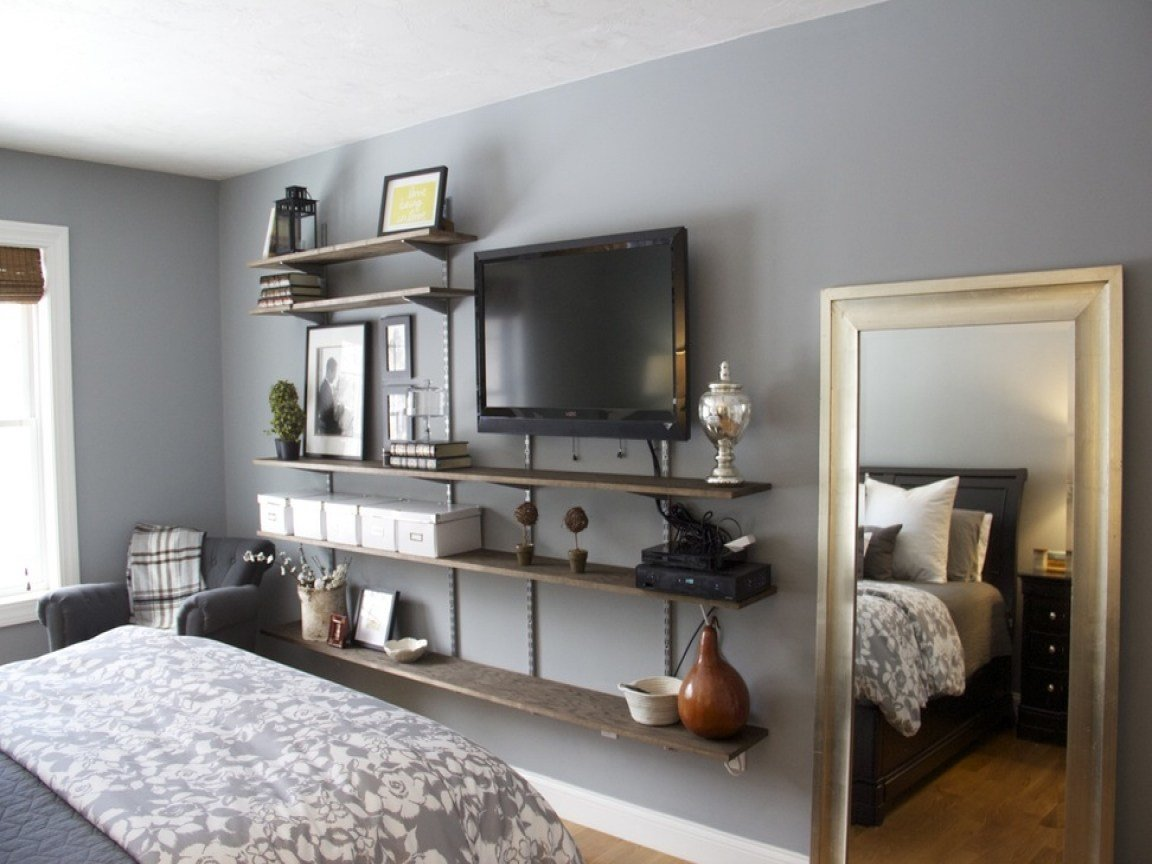 Best Bedroom Live Edge Tv Shelf Pictures Decorations With Pictures