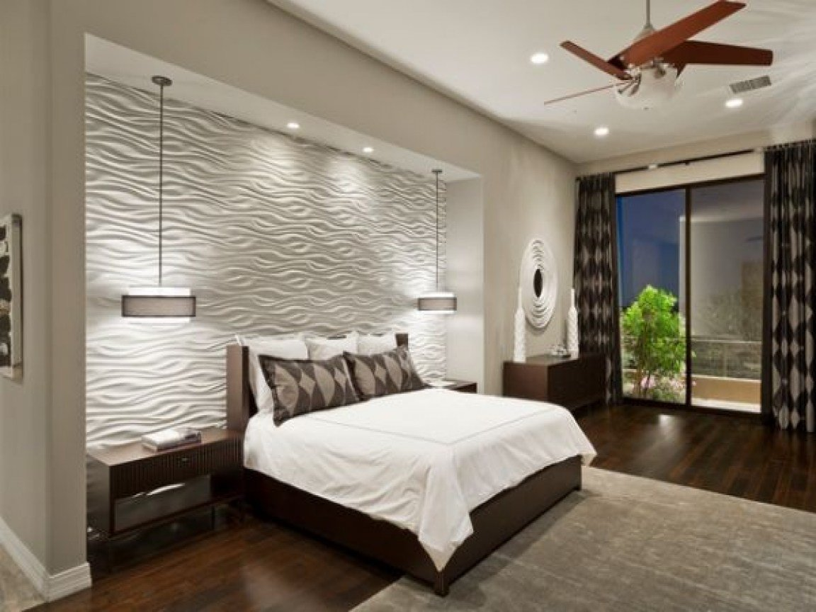 Best Tile For Accent Wall Bedroom Design Designs With Pictures