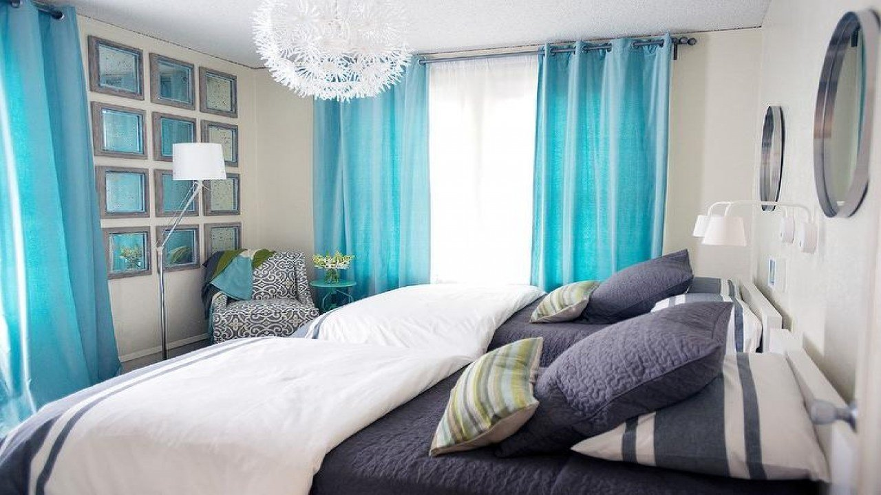 Best Turquoise And Navy Kids Bedrooms Contemporary Bedroom Designs With Pictures