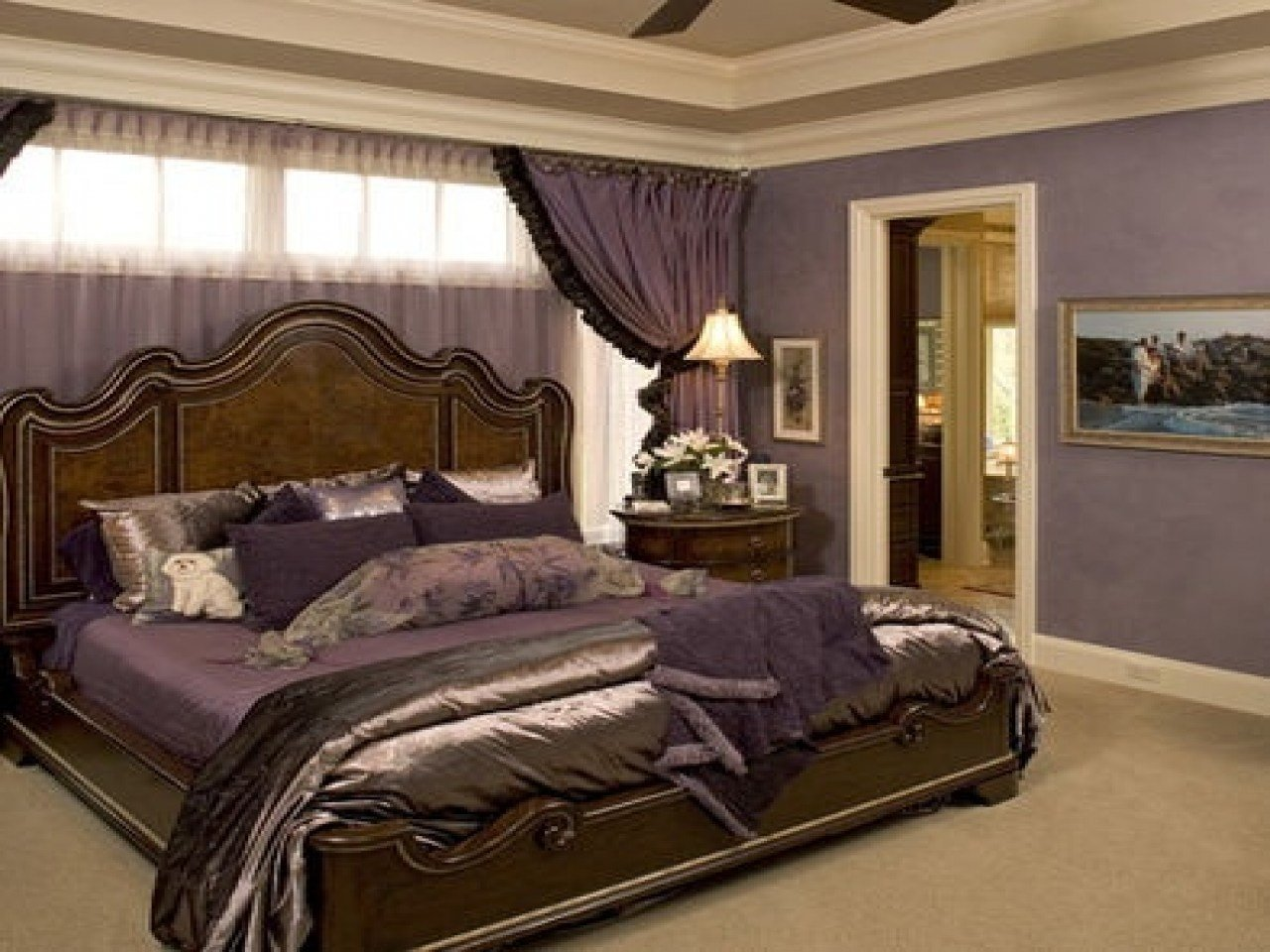 Best Bedroom Purple And Brown My Style Decor Designs With Pictures