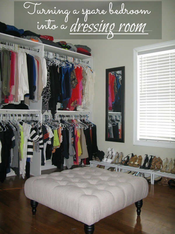Best Turning A Spare Bedroom Into A Dressing Room With Pictures
