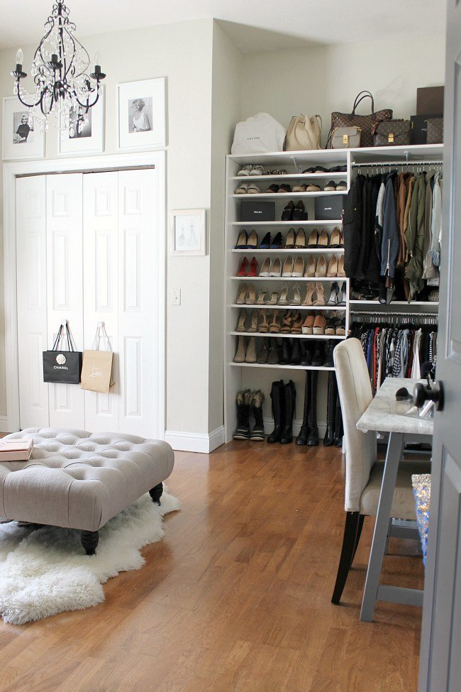 Best Turning A Spare Bedroom Into A Dressing Room An Update With Pictures
