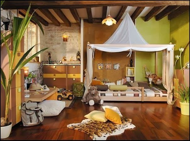 Best 17 Amazing Kids Room Design Ideas Inspired From The Jungle With Pictures