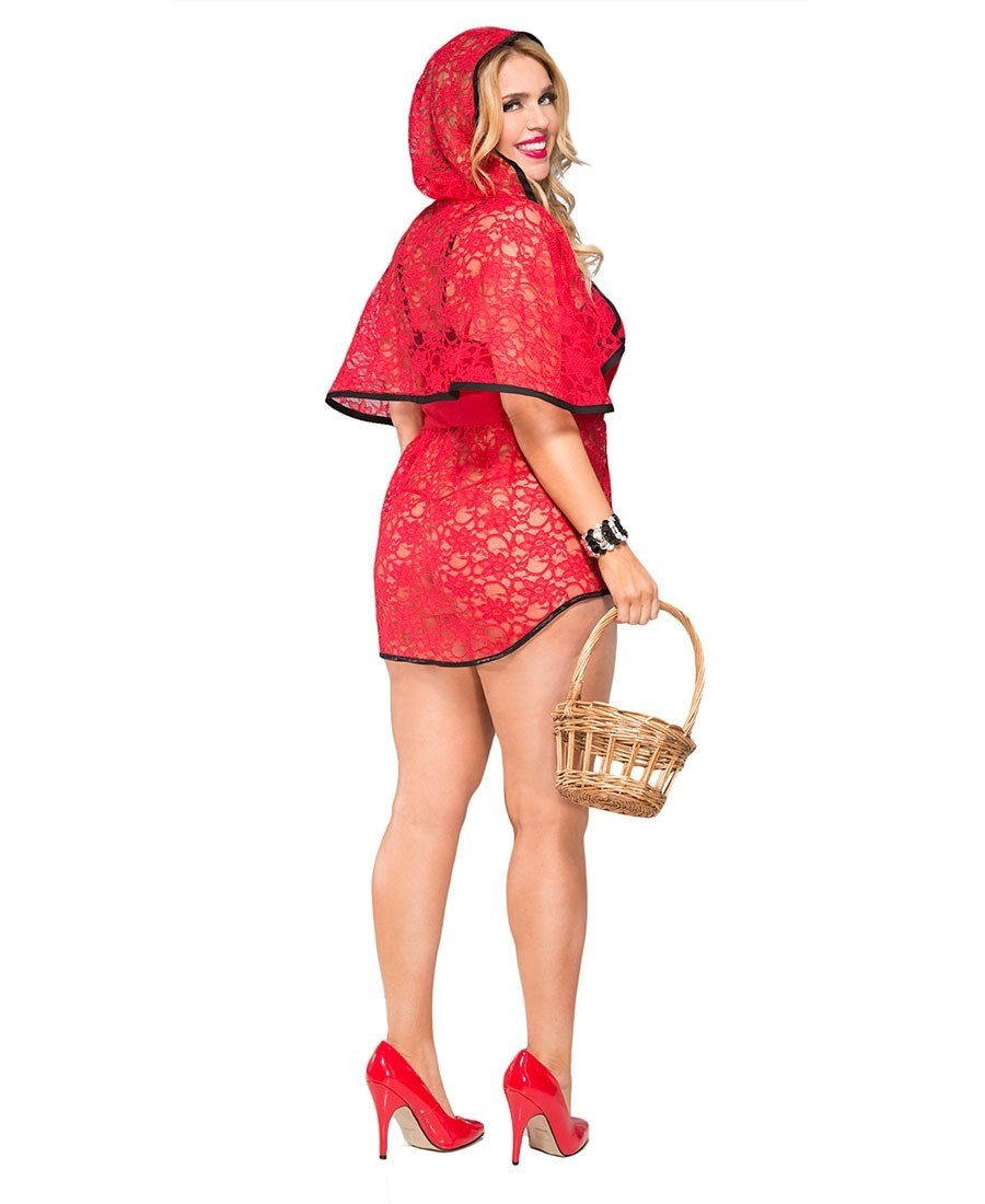 Best New Music Legs 70702Q Plus Size Beautiful Riding Hood With Pictures