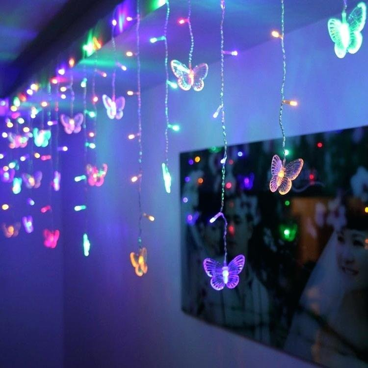 Best Purple Fairy Lights For Bedroom With Waterproof Copper With Pictures