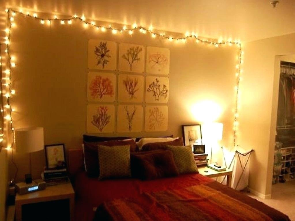 Best Lighting Inspiration Fairy Lights Bed Bedroom Ceiling With Pictures