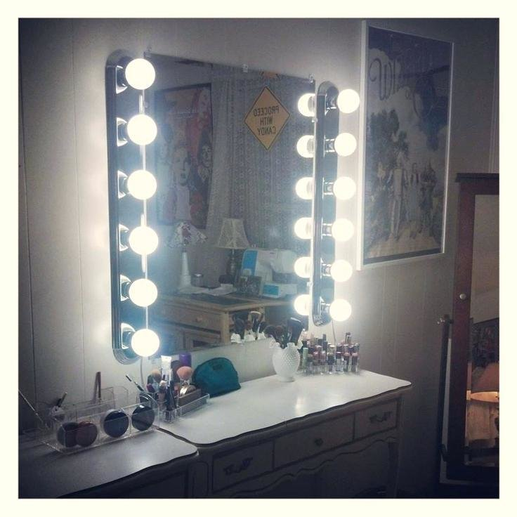 Best Bedroom Mirror Lights Awesome Modern With Vanity Unusual With Pictures
