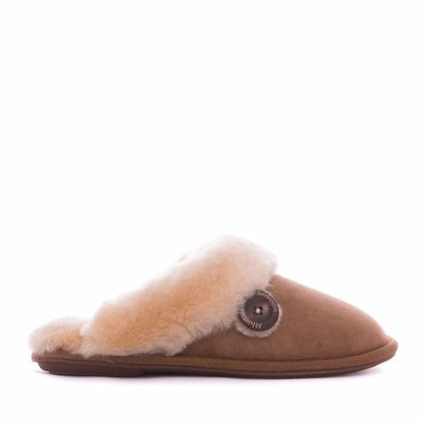 Best Bedroom Athletics Molly Sheepskin Mule Slippers Chestnut Medium Women S Shoes Elegant With Pictures