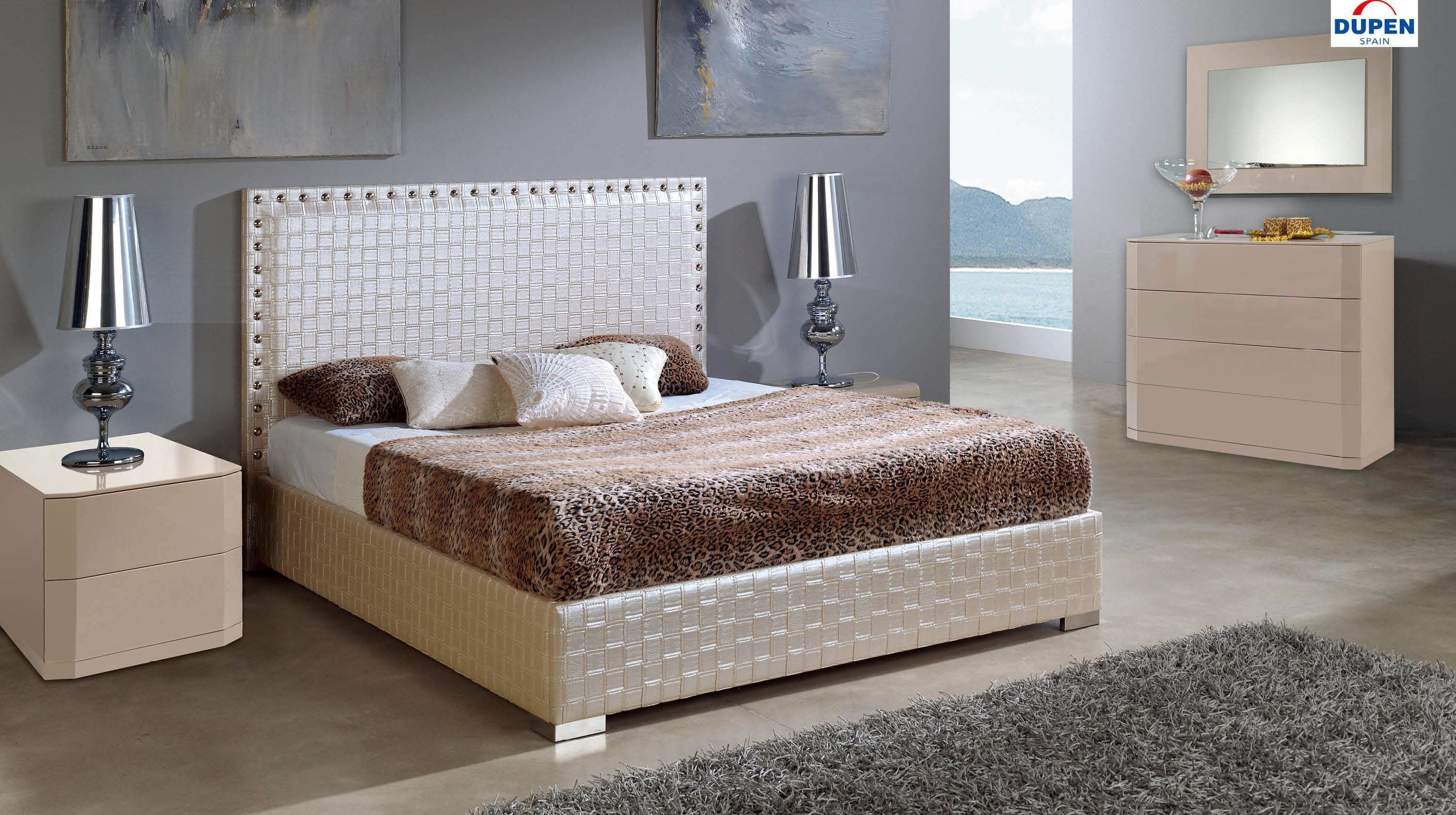 Best Made In Spain Leather Contemporary Platform Bedroom Sets With Pictures