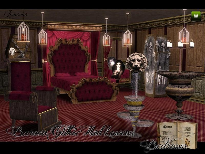 Best Jomsims Baroca Gothic Bedroom With Pictures