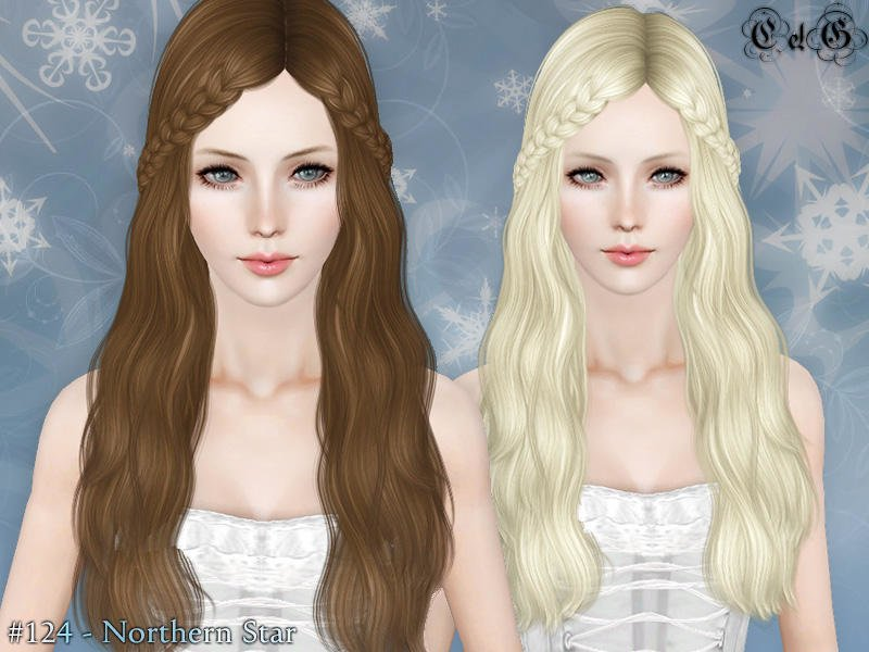 Free Cazy S Northern Star Hairstyle Set Wallpaper