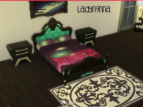 Best Swaghard S P Nk Galaxy Purple Bed With Pictures