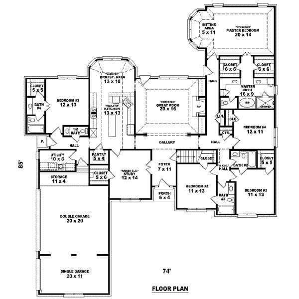 Best Unique 5 Bedroom Cape Cod House Plans New Home Plans Design With Pictures