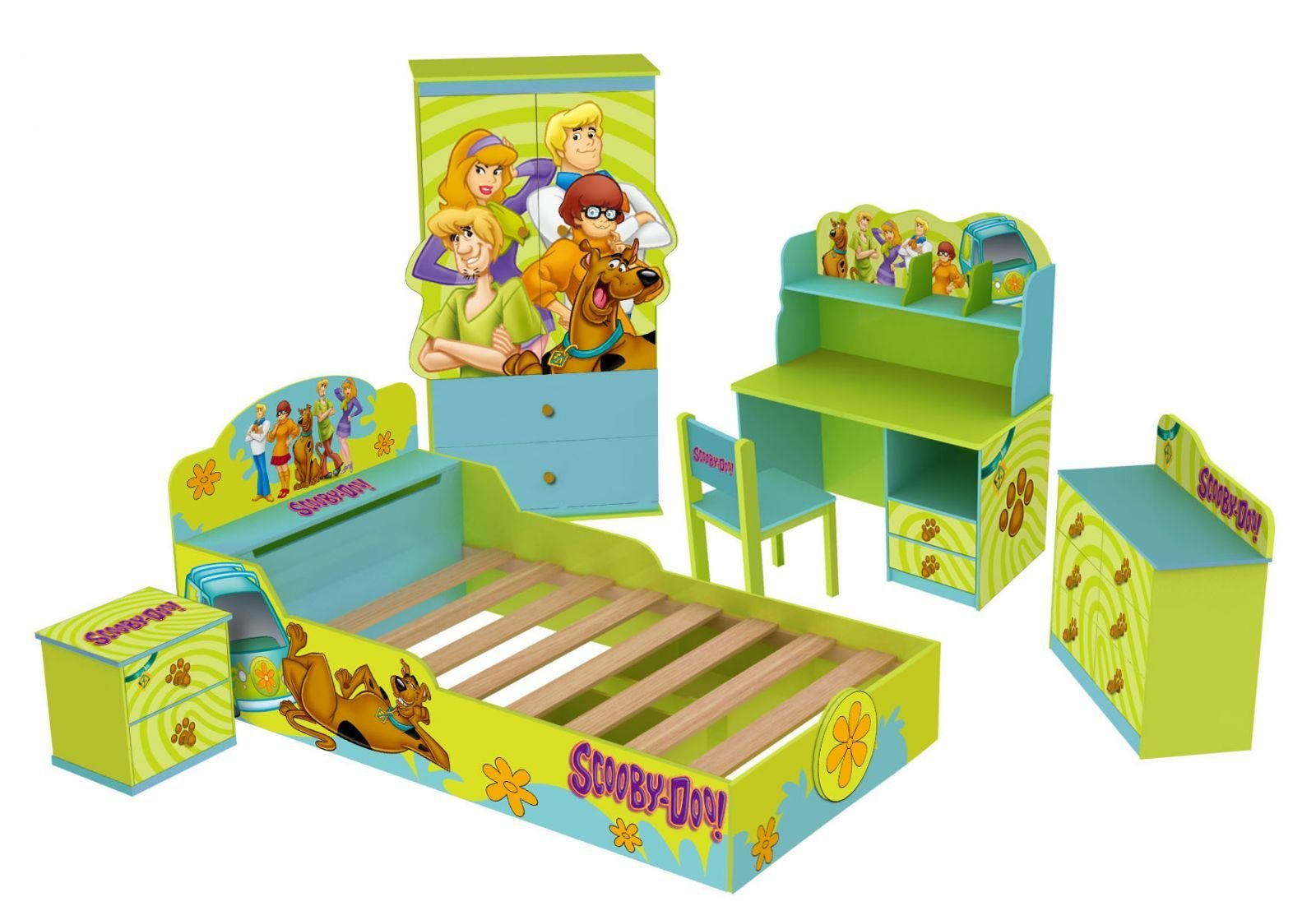 Best Scooby Doo Kid S Bed Room Set Allinfun With Pictures
