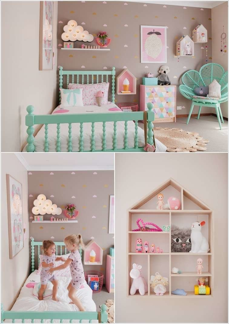 Best 10 Cute Ideas To Decorate A Toddler Girl S Room With Pictures
