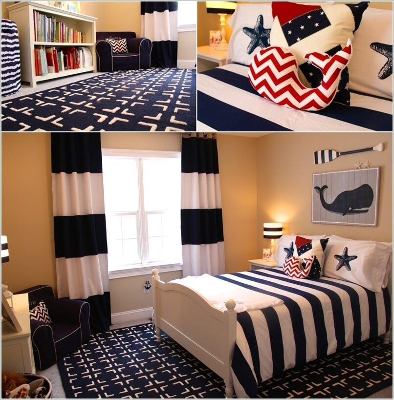 Best 10 Cool Nautical Kids Bedroom Decorating Ideas With Pictures
