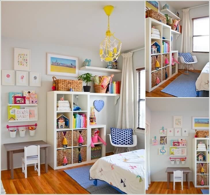 Best 5 Clever Ways To Save Space In A Small Kids Room With Pictures