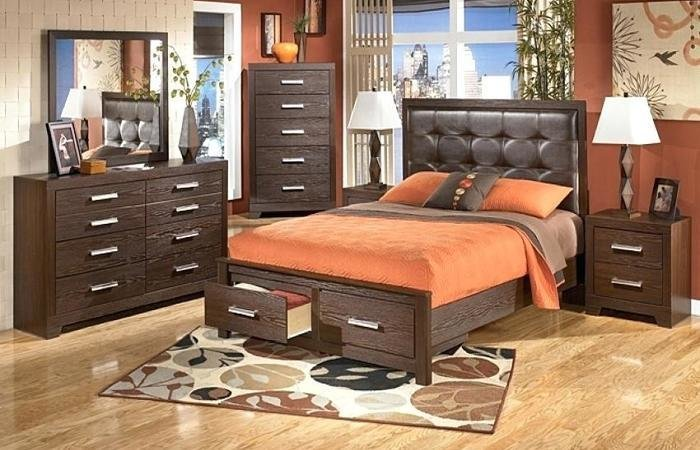 Best Bedroom Atmosphere Ideas Aarons Set Jacob Raven Ashley With Pictures