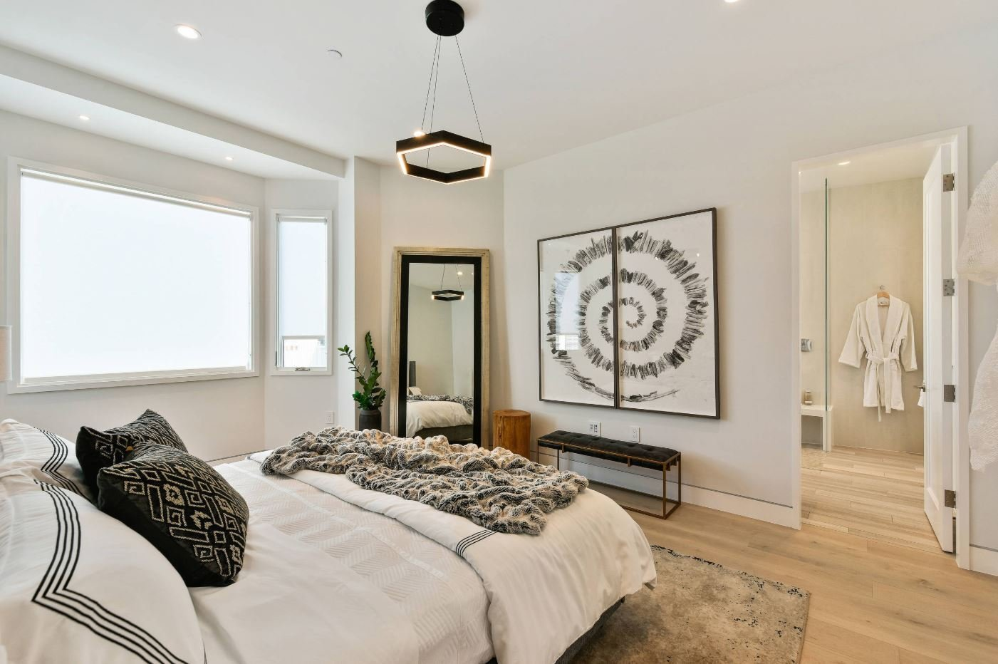 Best Before After Sophisticated Contemporary Bedroom Design With Pictures