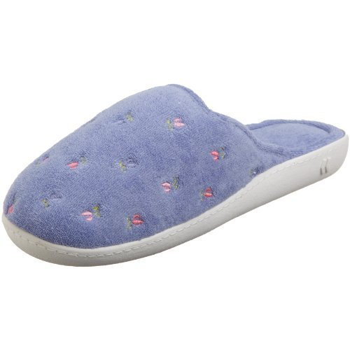 Best Dearfoam Slippers Isotoner Women's Terry Embroidered With Pictures