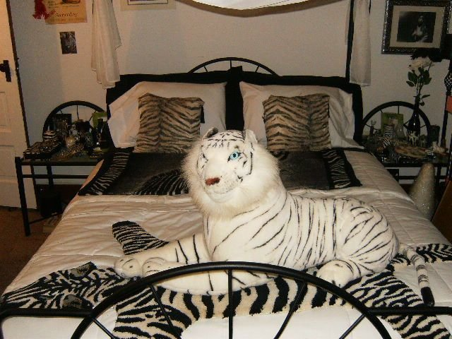 Best Zebra Bedroom Decor For Exotic Gothic Room Interior Fans With Pictures