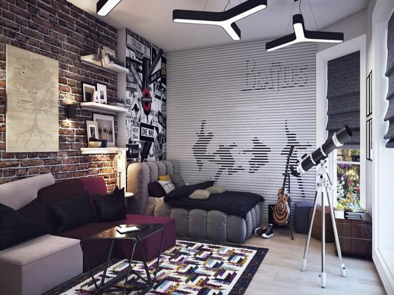 Best 10 Cool Teenage Boy S Bedroom Interior Design Ideas With Pictures
