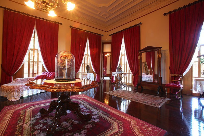 Best Queen S Bedroom Iolani Palace With Pictures