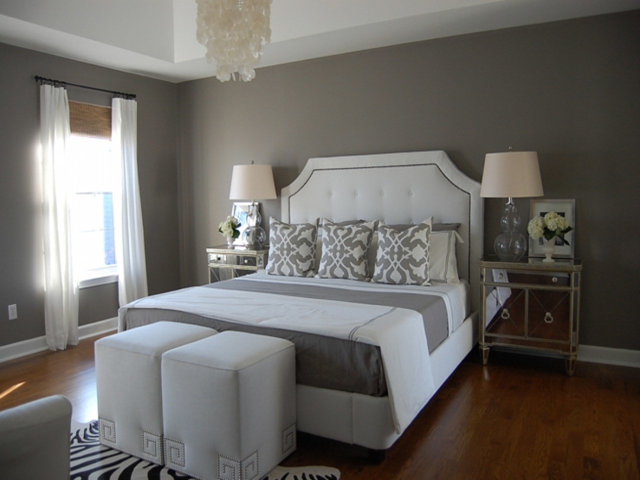 Best Pictures Of Gray Bedrooms Gray Paint Colors Bedroom Walls With Pictures