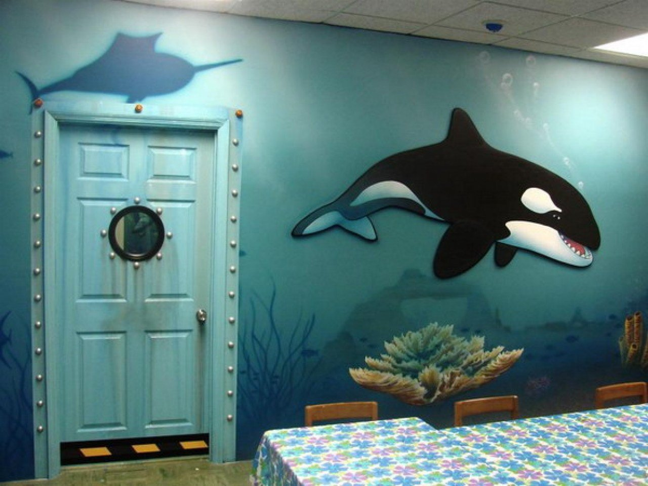 Best Underwater Themed Bedding Boys Bedroom Themes Kids Shark With Pictures