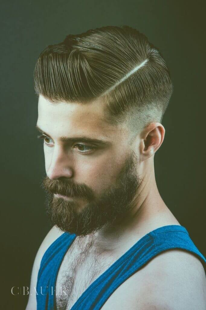 Free Side Part Hairstyles For Men Wallpaper