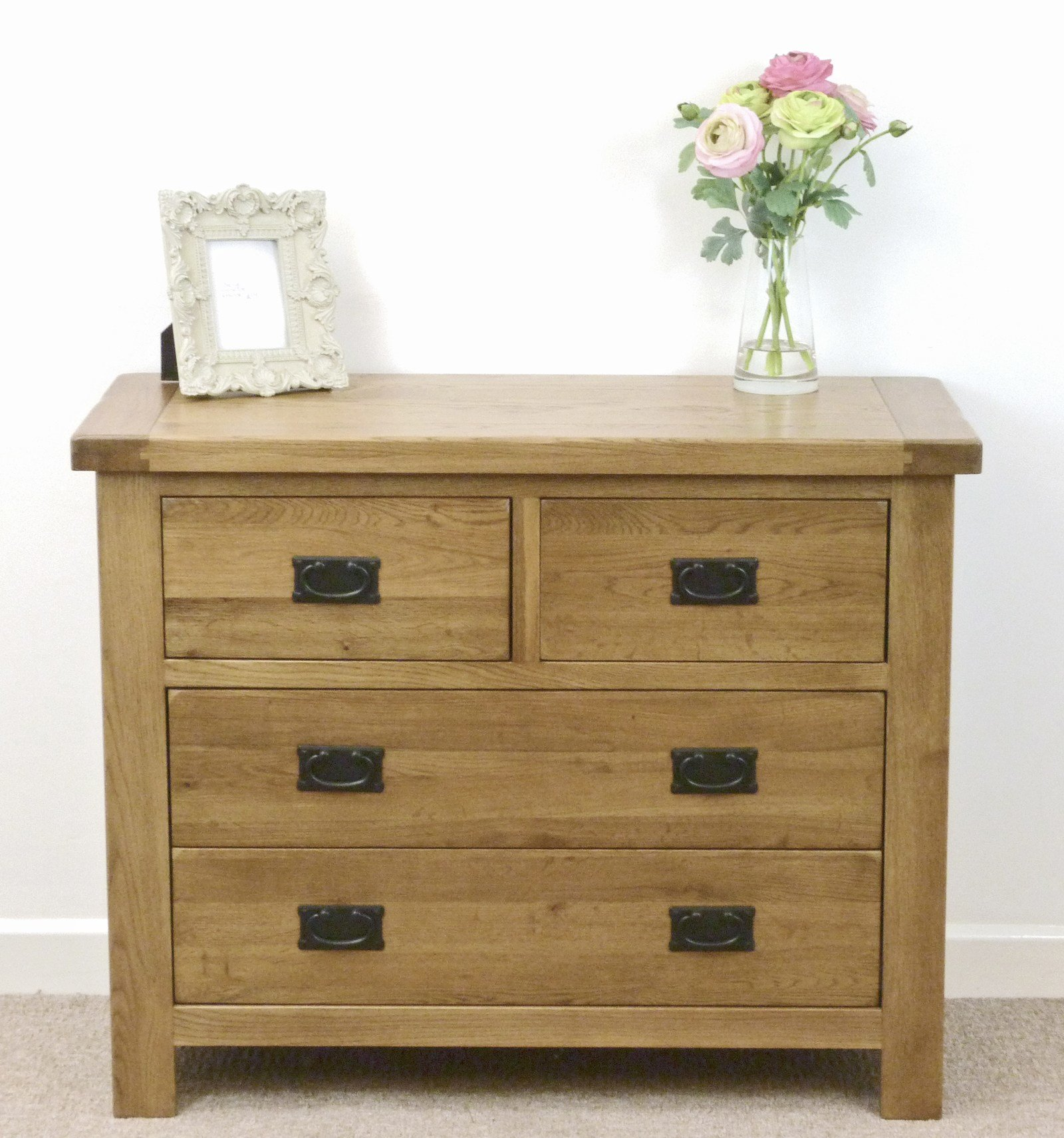 Best Rustic Solid Oak Bedroom Furniture Ebay With Pictures