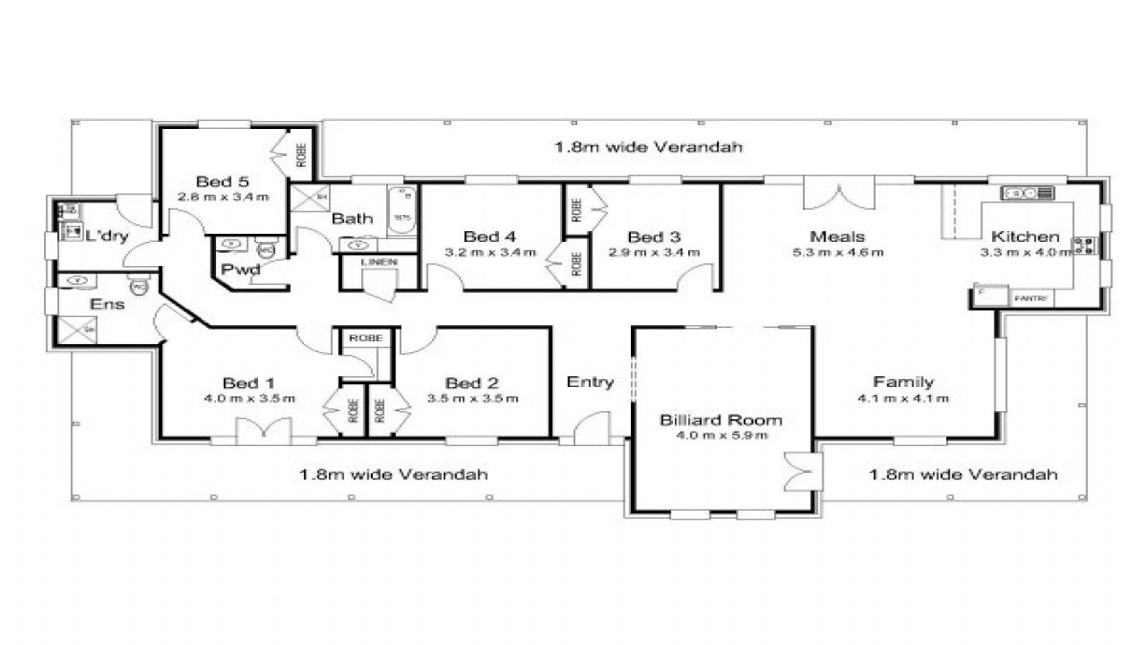 Best 5 Bedroom 2 Story House Plans Australia With Pictures