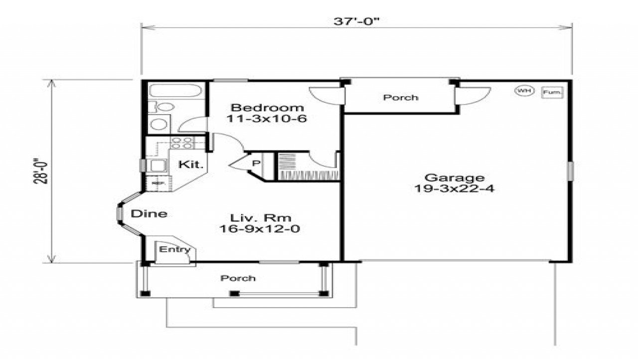Best 2 Car Garage With Apartment Above 1 Bedroom Garage Apartment Floor Plans 3 Bedroom Floor Plans With Pictures