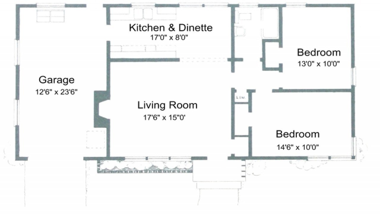 Best 2 Bedroom House Plans Free 2 Bedroom House Simple Plan With Pictures