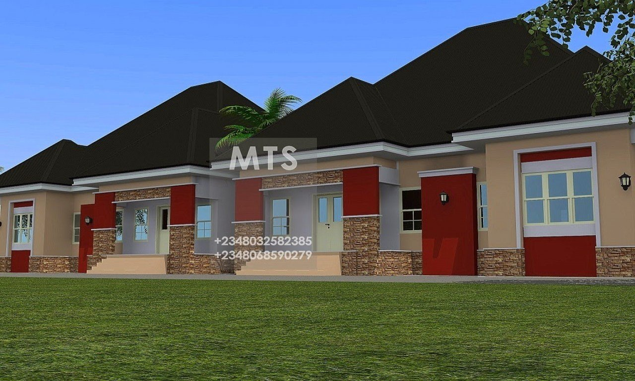 Best 3 Bedroom Floor Plan For Extension 3 Bedroom Bungalow Designs Bungalow Bedroom Mexzhouse Com With Pictures