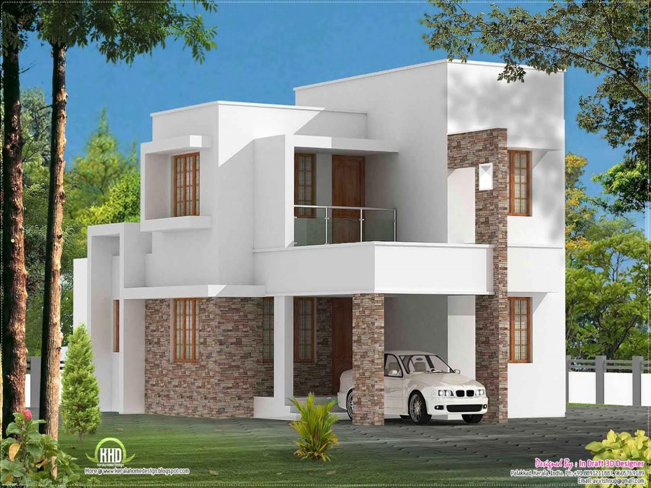 Best Simple Slanted Roof Modern House Simple Modern House Plan With Pictures