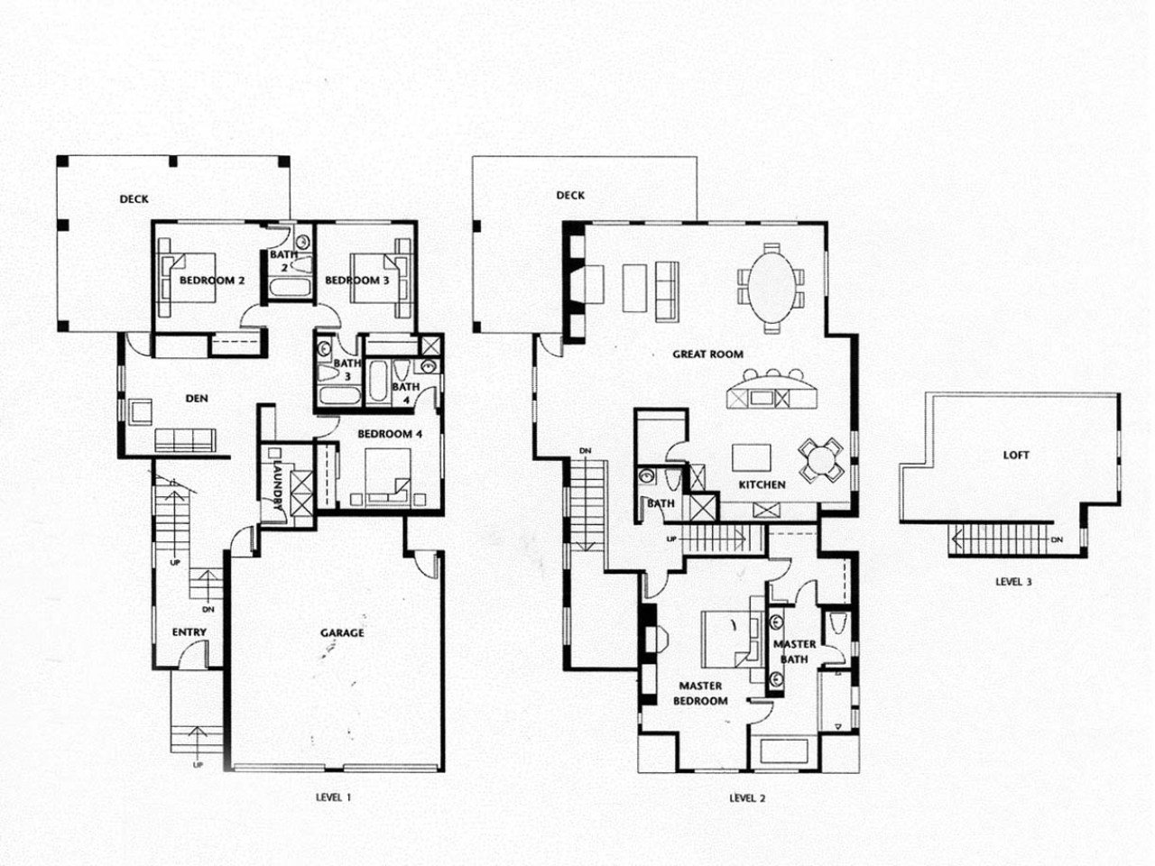 Best Luxury Homes Floor Plans 4 Bedrooms Luxury Homes With Open With Pictures