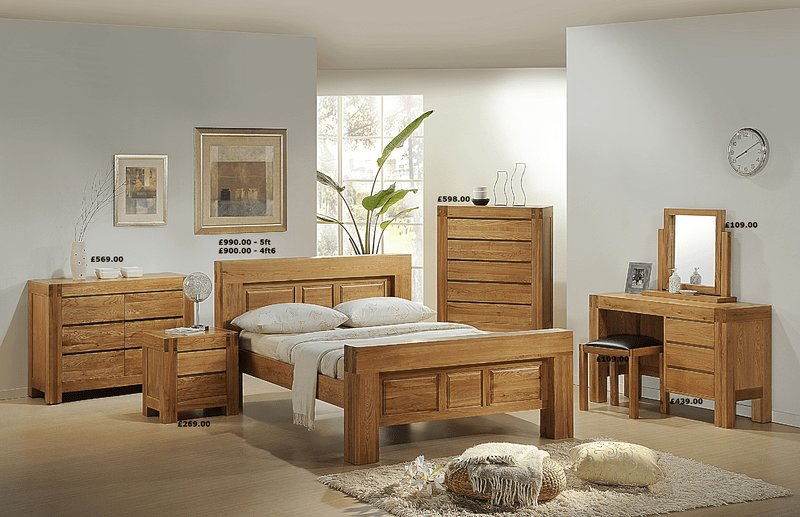 Best Chunky Oak Bedroom Furniture Mfp Furniture With Pictures