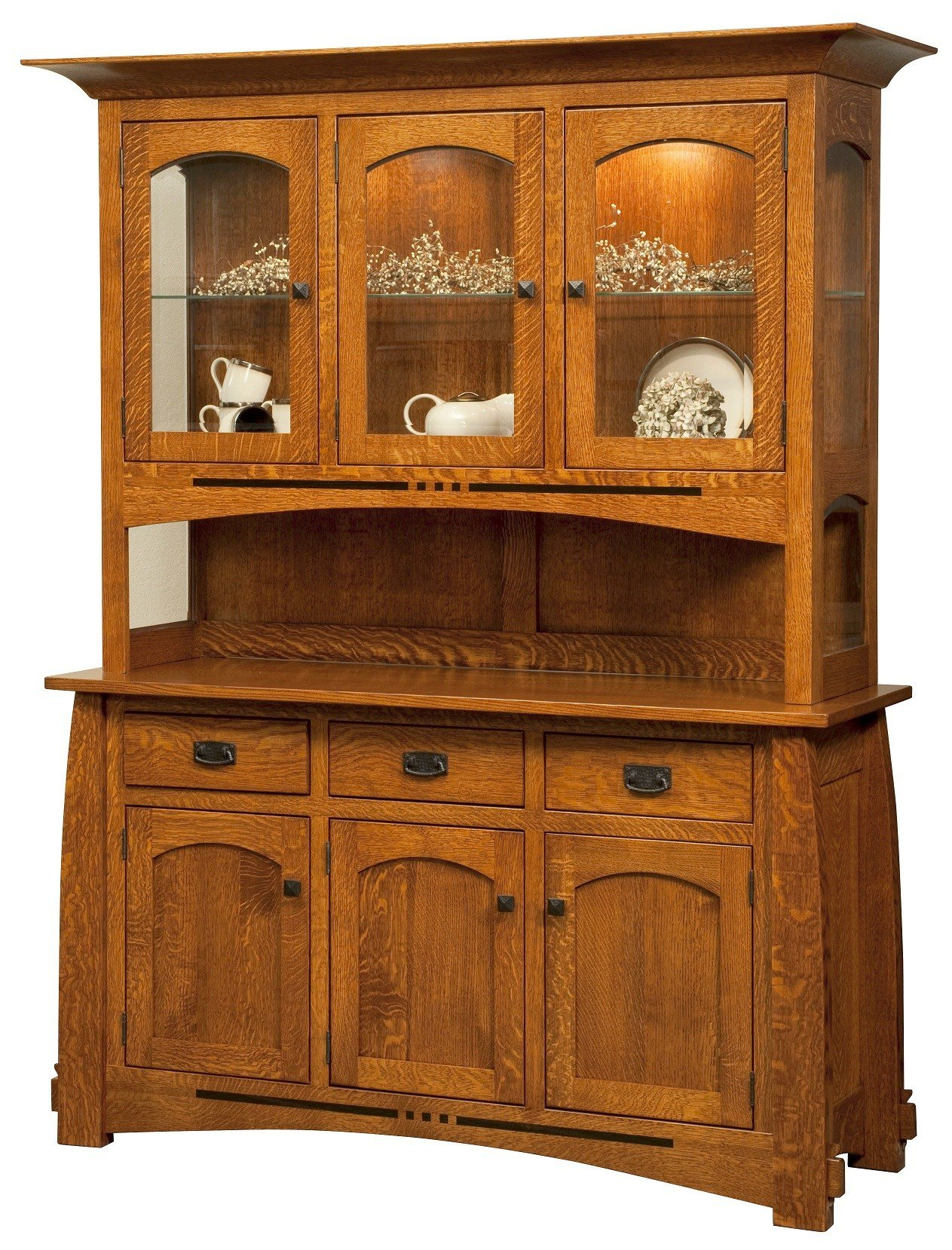 Best Mission Style Bedroom Dining Room Furniture Hutch Dining With Pictures