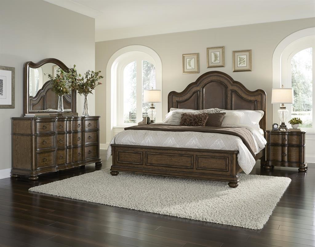 Best 4 Piece Quentin Low Profile Bedroom Set By Pulaski • Usa With Pictures