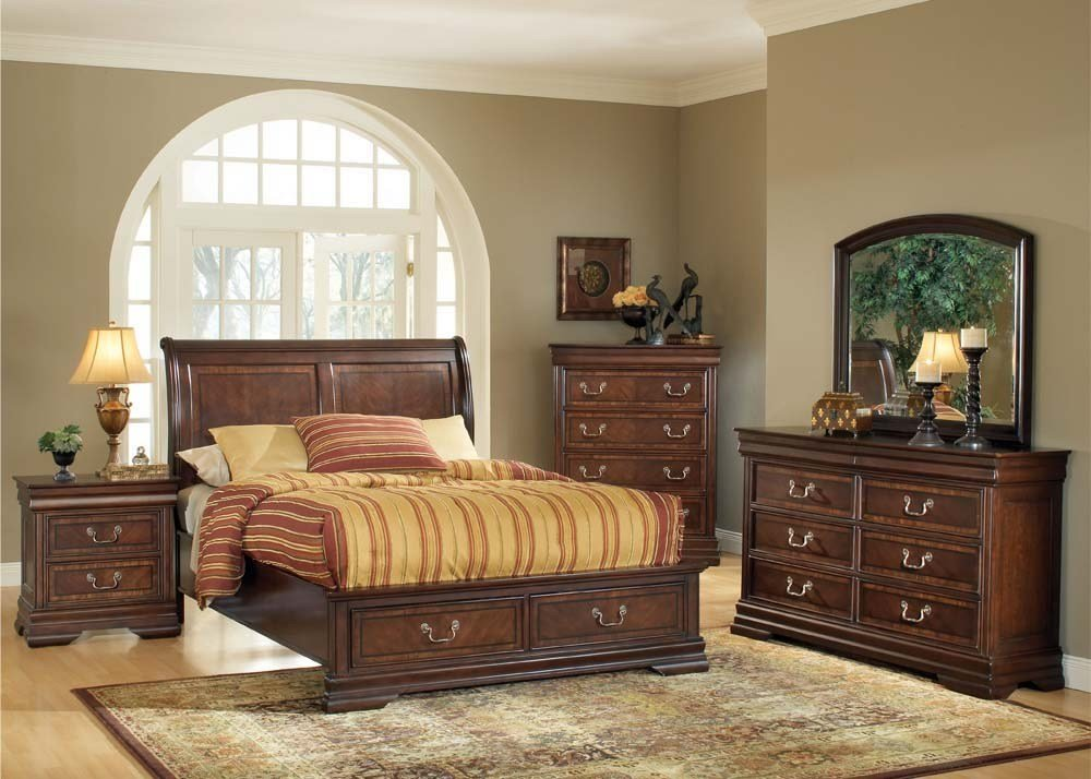 Best Acme Furniture Hennessy 4 Pc Bedroom Set With Pictures