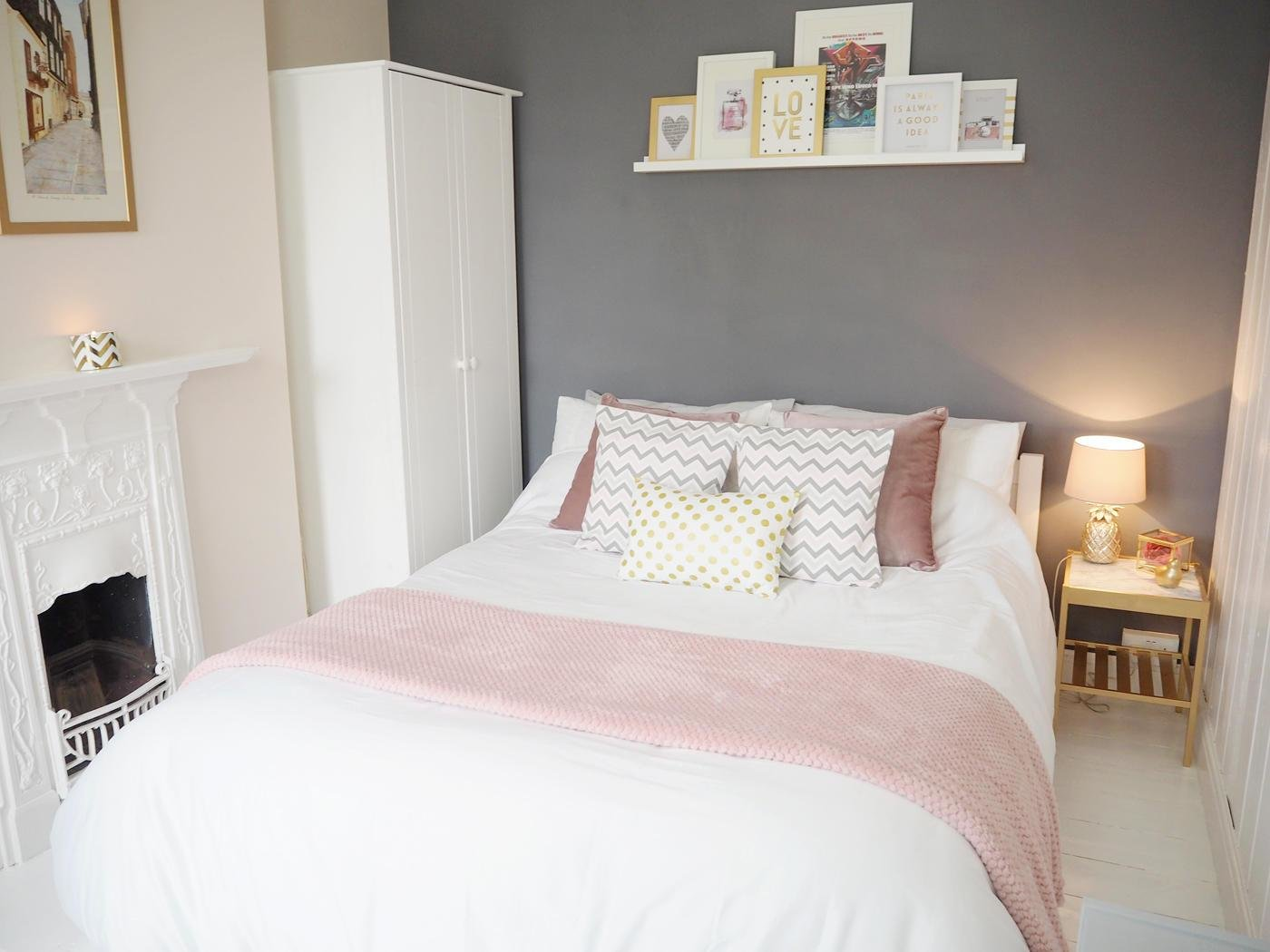 Best Pink Grey Bedroom Makeover Bang On Style With Pictures