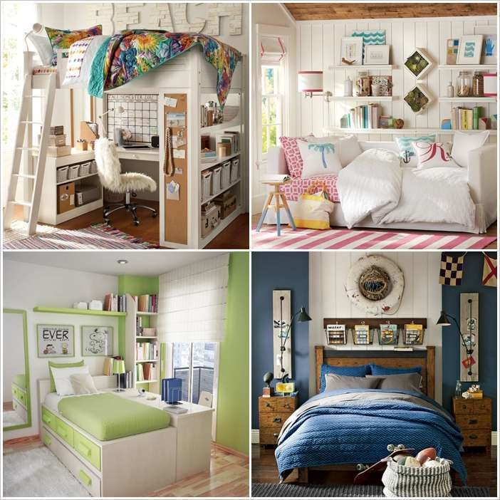 Best 10 Smart Solutions T**N Bedrooms For Small Space With Pictures