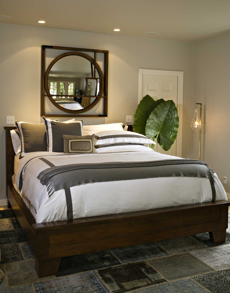 Best Bed Without Headboard Bedroom Contemporary With Master With Pictures