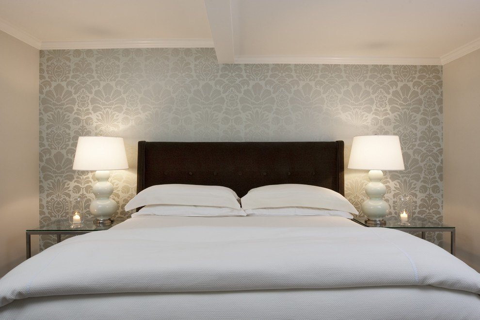 Best Contemporary Wallpaper Designs Bedroom Contemporary With With Pictures